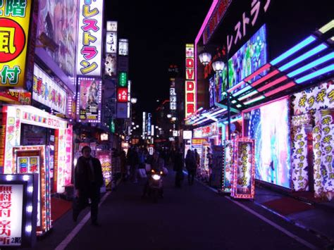 photography japan tokyo street photography neon lights