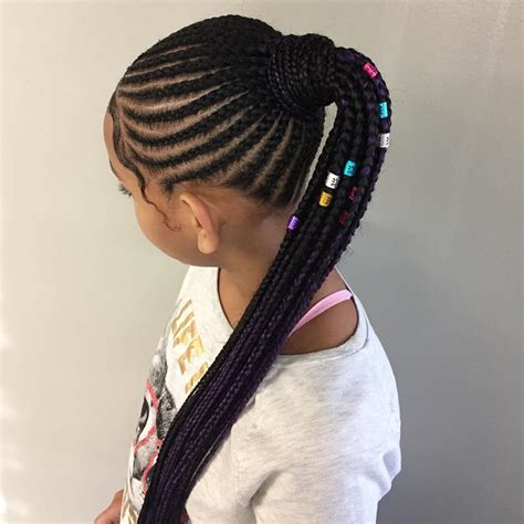 awesome braided hairstyles for little girls loud in naija