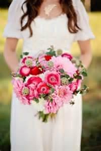 Summer Red Pink Bouquet
