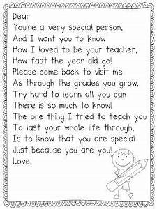 end of year letter from teacher nice by andrew