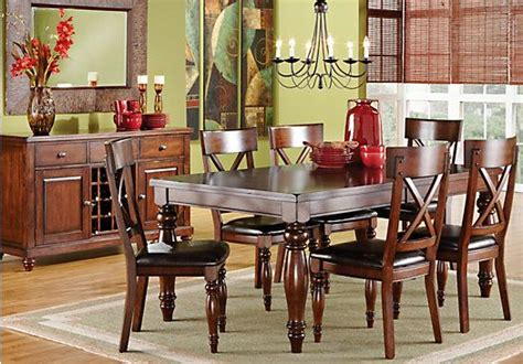 rooms to go dining sets shop for a calistoga 7 pc dining room at rooms to go find