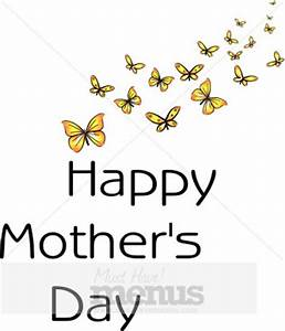Butterfly Mother's Day | Holiday Clipart Archive