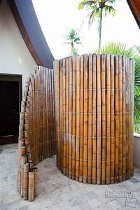 Great Outdoor Shower Ideas for Refreshing Summer Time - Hative
