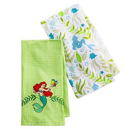 disney kitchen towels disney kitchen towel set ariel the mermaid