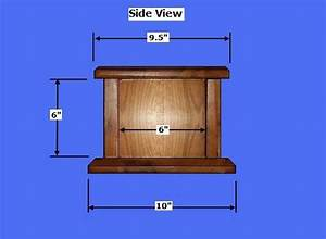 Free Wood Cremation Urn Box Plans - How to Build Wood