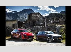 Porsche Cayenne Turbo S vs Audi RS6 english subtitled