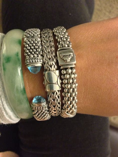 lagos john hardy bracelet obsession fashion style