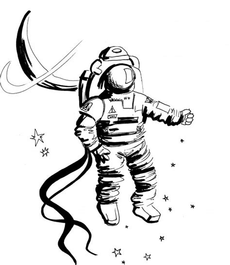 astronaut in space drawing whitman alumna nasa astronaut preps for 2010 space flight