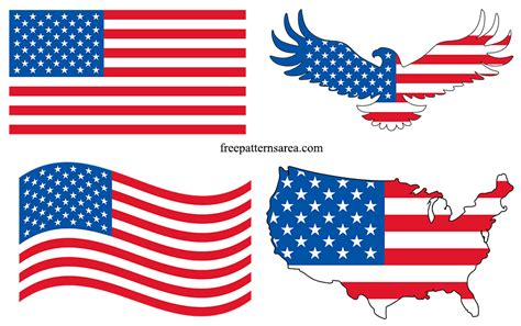American Flag Svg Free – 419+ SVG File for Silhouette
