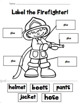 label the firefighter by prekinders in paradise tpt 442 | original 2109104 1