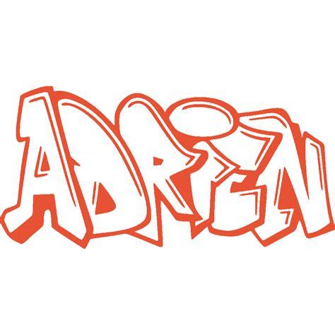 meuble cuisine promo stickers stickers prenom adrien graffiti stick
