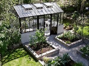 Gewächshaus Mit Fundament : gew chshaus mit erh htem fundament garden green and ~ Watch28wear.com Haus und Dekorationen