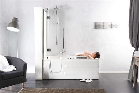 box doccia per vasche da bagno vasche doccia con sportello laterale toaccess