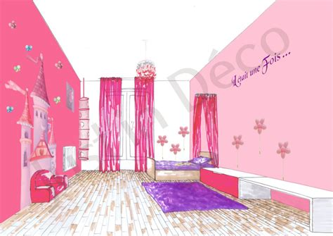 chambre fille decoration chambre princesse gascity for