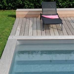 Margelle Pour Piscine : margelles et terrasses en bois massif durable piscinelle ~ Melissatoandfro.com Idées de Décoration