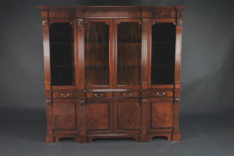 pictures of china cabinets mahogany china cabinet high end antique reproduction