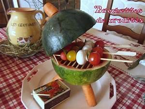 Salade Originale Pour Barbecue : d co entree crudites ~ Melissatoandfro.com Idées de Décoration