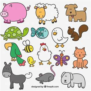 Cute Cartoon Farm Animals | www.pixshark.com - Images ...