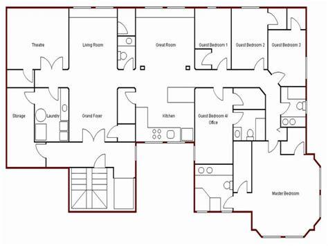 create simple floor plan draw   floor plan easy