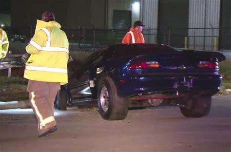 video aftermath    gen camaro drag car crashing
