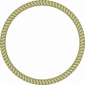 Round rope frame vector image | Event | Pinterest | Rope ...