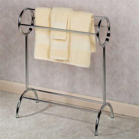 Bathroom Floor Towel by Floor Standing Towel Racks Free Standing Towel Rack With