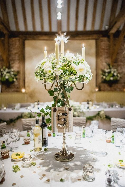 candelabra wedding centerpieces ideas