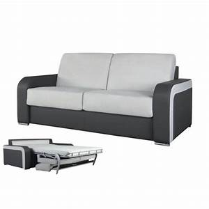 Canapé Convertible Confortable : canape lit confortable ~ Melissatoandfro.com Idées de Décoration