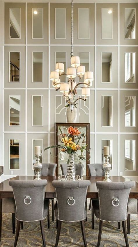 dining room decor ideas transitional style  grey