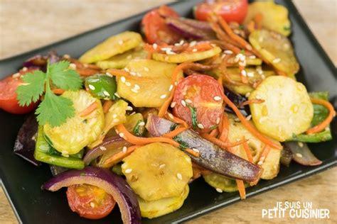 comment cuisiner avec un wok recette de wok de légumes aux tiges de brocoli