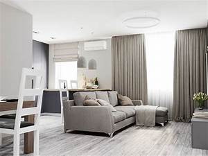2 modern homes the use grey for a calming effect for Living room furniture visualizer
