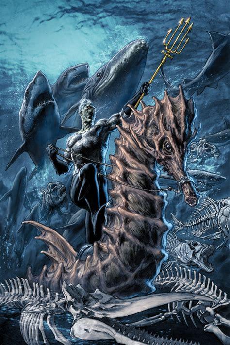 blackest night falls aquaman broken frontier