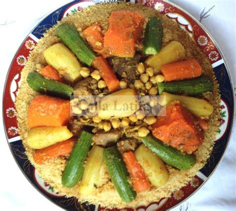 recette de cuisine thermomix les secrets de cuisine par lalla latifa couscous