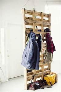 Garderoben Ideen Wenig Platz : meubles en palettes le bois recyclable pour votre confort ~ Eleganceandgraceweddings.com Haus und Dekorationen