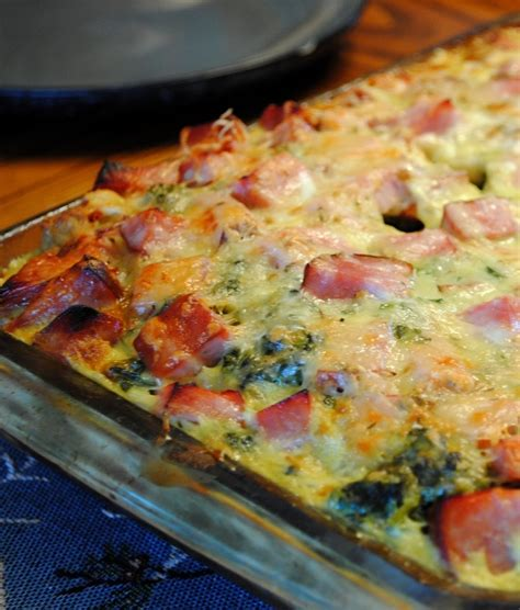 breakfast casserole bake ham and cheese quot breakfast casserole recipe dishmaps
