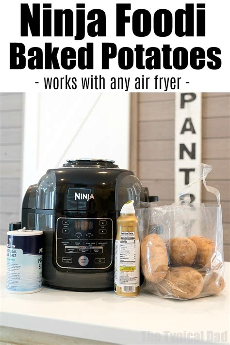 ninja foodi potatoes baked air fryer recipe recipes oven cooking never got way easy fry fish pressure ve cooker tried
