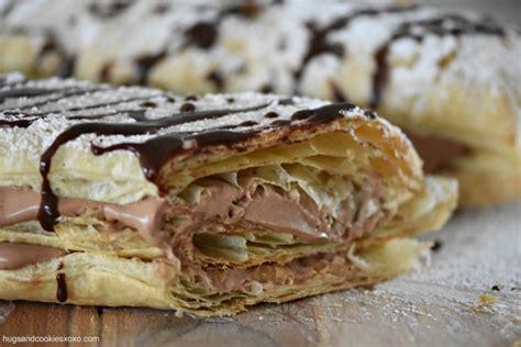 Chocolate Mousse Napoleons