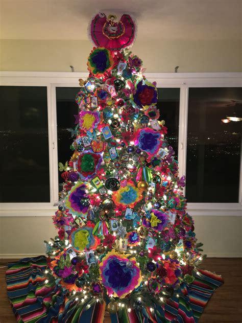 mexican themed christmas tree christmas pinterest