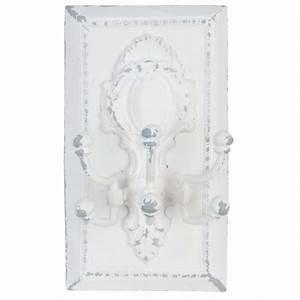 Patère Porte Manteau : pat re porte manteau 6 crochets par clayre eef pour ~ Melissatoandfro.com Idées de Décoration