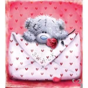Teddy Bear Valentine's Day Card