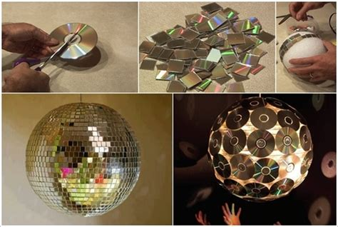 diy super exciting ideas  recycle  cds  dvds