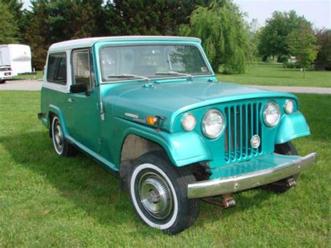 kaiser willys jeep find used 1970 kaiser willys jeepster commando hardtop