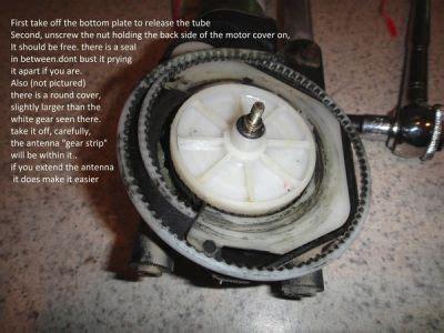 remove antena    volvo  pt cruiser