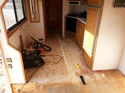 Replacing Carpet With Laminate Flooring In Rv   Carpet