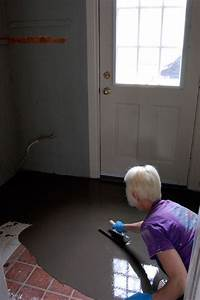 how to pour self levelling cement yourself floors With how to level kitchen floor