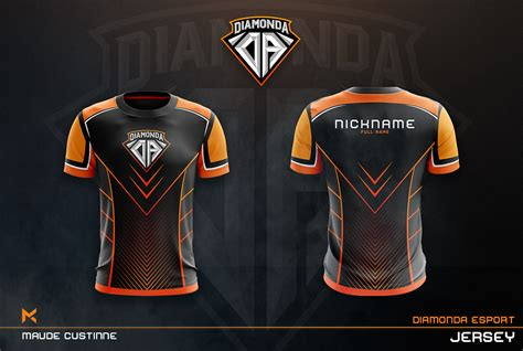 jersey esport team mockup  behance