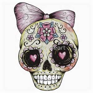 Simple Sugar Skull Drawings