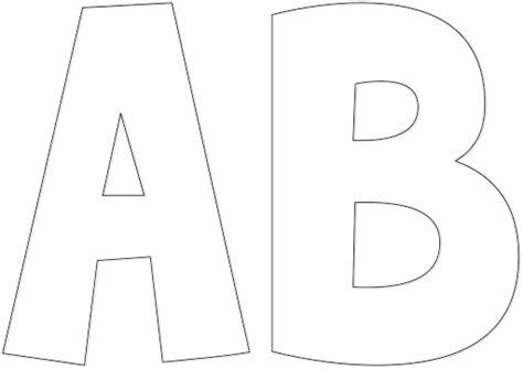 moldes de letras para imprimir y colorear