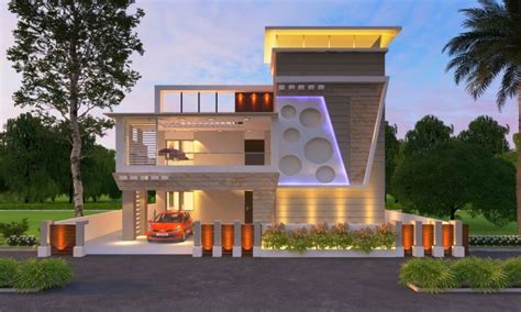 indian  front elevation designs