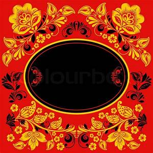 Vector background of floral pattern with traditional